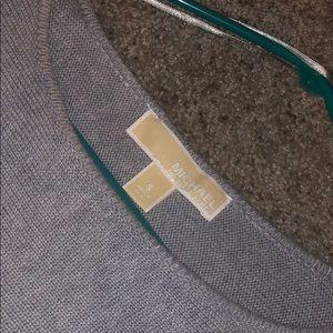 Michael Kors gray sweater.